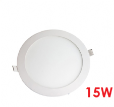 Recessed LED Panels 15W Round